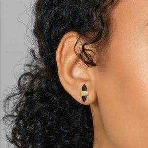 Kendra Scott Jamie Stud Earrings In Black Obsidian